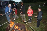 Roasting Marshmallows - Click on Image to enlarge