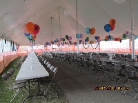 Tent Decoration - Click on Image to enlarge